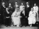 Wedding Group- September 3rd, 1917  If anyone knows the others in the photo please let us know.